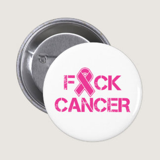 F(ribbon)CK Cancer Pinback Button