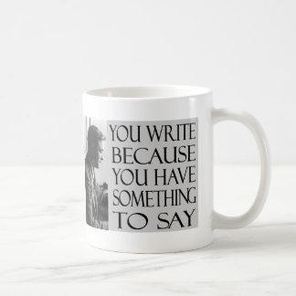 F. Scott Fitzgerald Cup Coffee Mugs