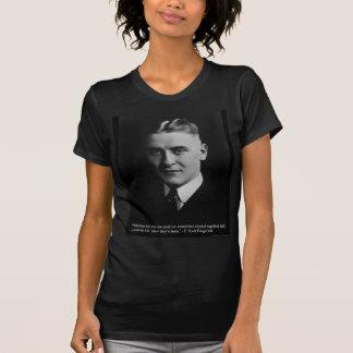 F Scott Fitzgerald dos regalos de las almas, Playera