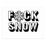 F SNOW -.png Post Cards