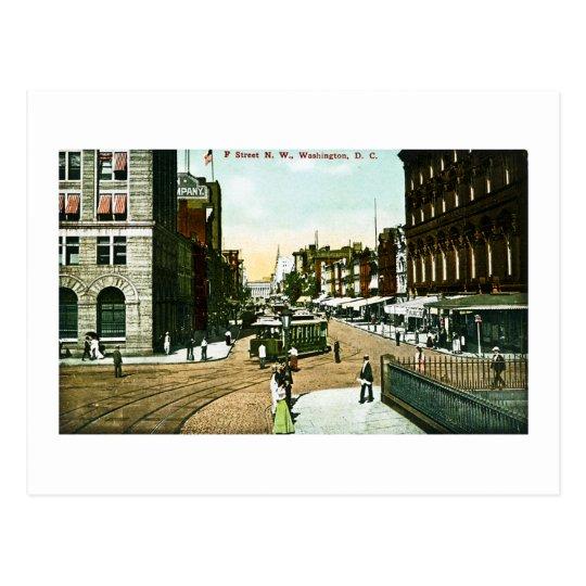 F Street N.W., Washington D.C. Postcard
