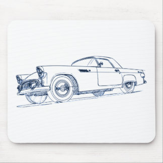 F Tbird 1955 Mouse Pad