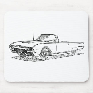 F Tbird 1962 Mouse Pad