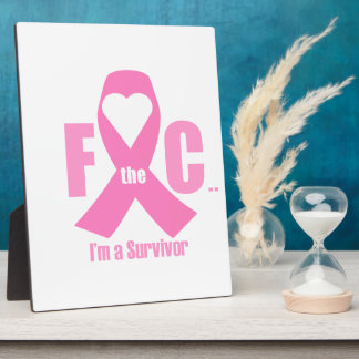 F the C.... (breast cancer) Plaque