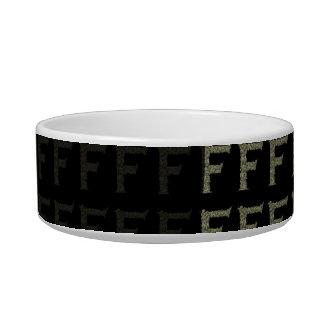 F - The Falck Alphabet (Golden) Bowl