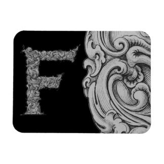 F- The Falck Alphabet (Silvery) Magnet