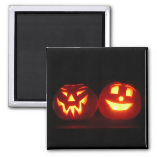 F�tons Halloween - 2 Inch Square Magnet