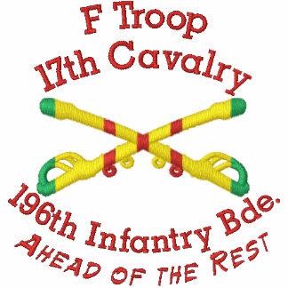 F Troop 17th Cav. 196th LIB Crossed Sabers Shirt