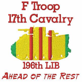 F Troop 17th Cav. 196th LIB M113 Track Polo Shirt