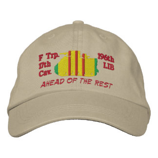 F Troop 17th Cav. M113 Track Embroidered Hat