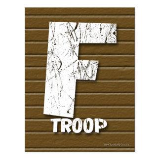 F Troop.... Postcard