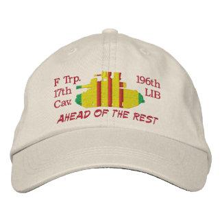 F Trp 196th LIB M551 Sheridan Embroidered Hat