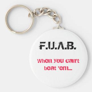 F.U.A.B., When you can't beat 'em... Keychain