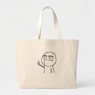 F U Dude Large Tote Bag