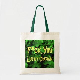 F U Lucky Charms! Tote Bag