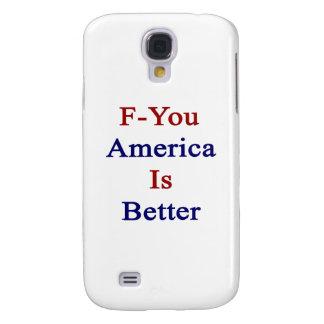 F usted América es mejor