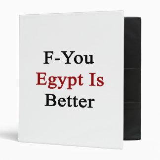 F usted Egipto es mejor