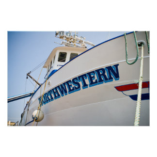 F/V Northwestern Framed Print