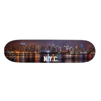 F.Y.C. N.Y.C. Monopatín del horizonte Skateboard