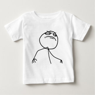 F Yea Rage Face Meme Baby T-Shirt