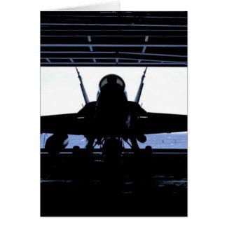 FA18 Hornet Navy Card