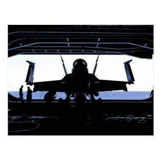 FA18 Hornet Navy Postcard
