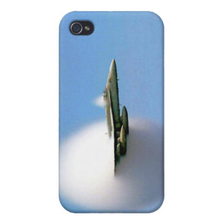 FA-18 Hornet Breaking Sound Barrier iPhone 4 Cover