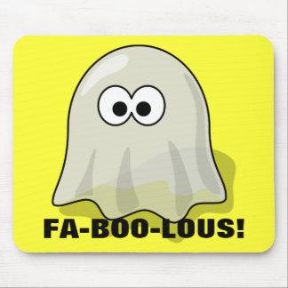 FA-BOO-Lous Cute Cartoon Halloween Ghost Mouse Pad