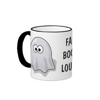 FA-BOO-LOUS Cute Cartoon Halloween Ghost mug