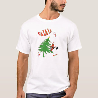 Fa La La Dancing Christmas Tree Crawfish / Lobster T-Shirt