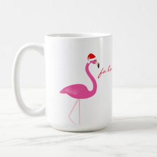 Fa la la la Flamingo Holiday Mug