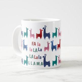 Fa La La Llama Jumbo Mug
