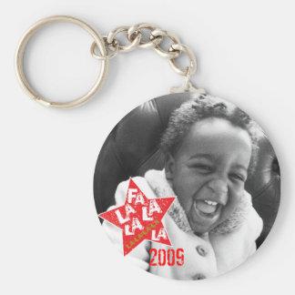 Fa La La Star Ornament Keychain
