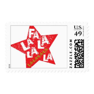 Fa La La Star Studded Postage