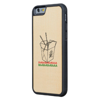 Fa ra ra ra ra - Holiday Humor Carved® Maple iPhone 6 Bumper