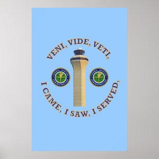 FAA Air Control VVV Shield Poster