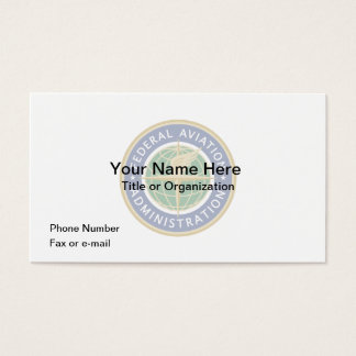 FAA Business Card
