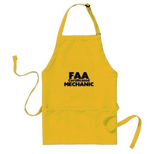 FAA Certificated Mechanic Adult Apron