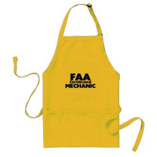 FAA Certificated Mechanic Apron