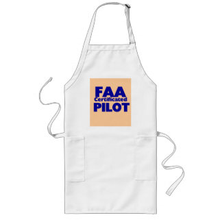 FAA Certificated Pilot Long Apron