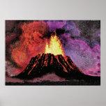 faa del bosquejo del volcán 9 impresiones