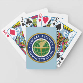 FAA federal aviation administration Bicycle Playing Cards