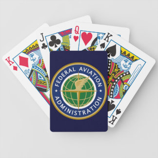 FAA federal aviation administration Bicycle Card Decks