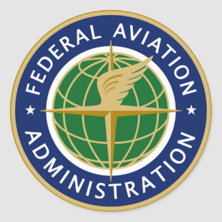FAA federal aviation administration Stickers