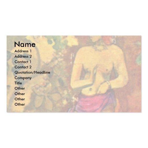Faa Iheihe By Paul Gauguin (Best Quality) Business Card