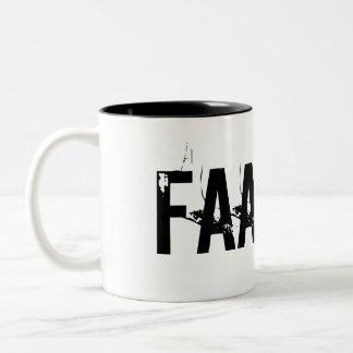 """¡""""FAAAKT! """" TAZA DE DOS TONOS"""