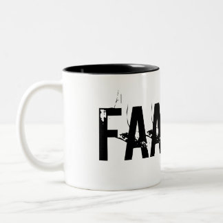 """FAAAKT!"" Two-Tone COFFEE MUG"