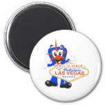 Fab Baby vegas sign white Refrigerator Magnets