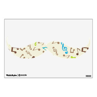 Fab Blue & Green Music Notes Wall Decal