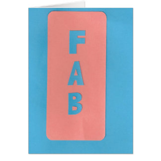 FAB CARD